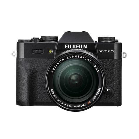blibli kamera jual fujifilm x t20 18 55mm kamera mirrorless black