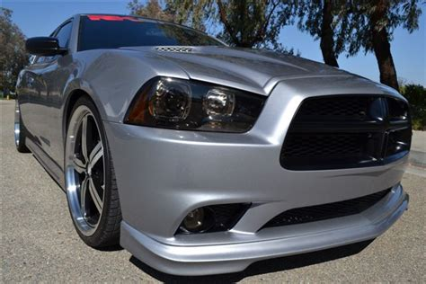 2013 dodge charger front lip rksport 24013001 charger front fascia lip spoiler 2011 2014