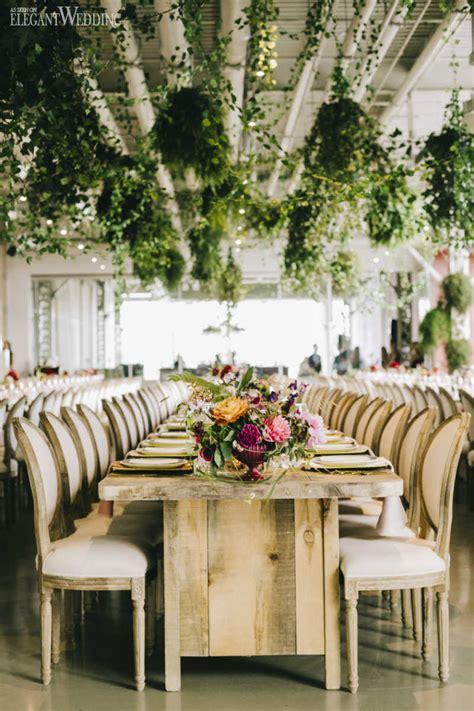 modern indoor garden wedding in montreal elegantwedding ca modern garden wedding filled with colour elegantwedding ca