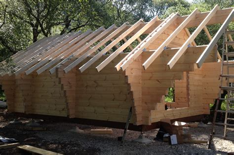Foundation For Log Cabin by Log Cabins Timber Frame Buildings Easypads