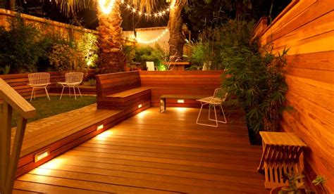 deck lighting ideas practical deck lighting ideas to turn your backyard into