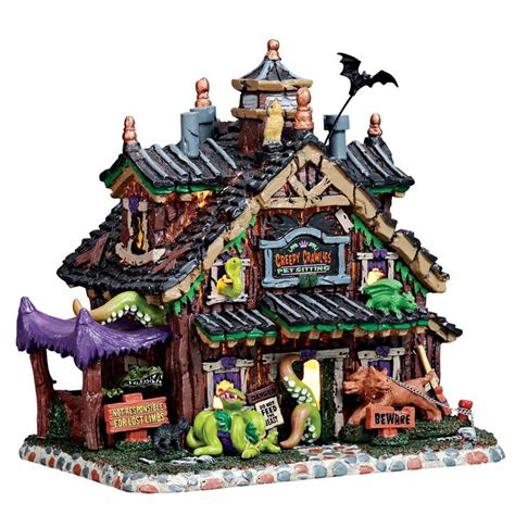 spooky town  village collection images