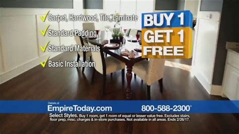empire today buy one get one free sale tv commercial