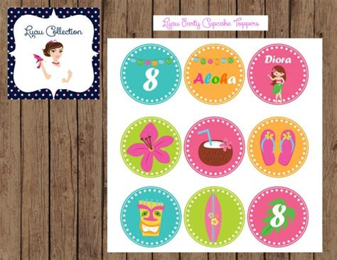 free printable luau party decorations i want them for my luau summer party luau party cupcake