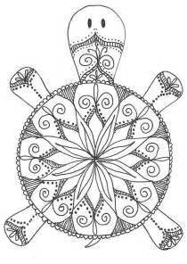 turtle coloring pages for adults 25 best ideas about mandala coloring pages on
