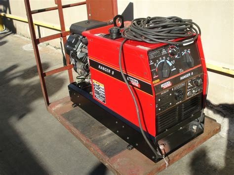 used lincoln welder slightly used lincoln ranger 8 gasoline welder ebay
