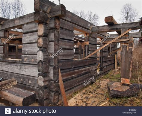 log cabin construction log cabin construction in traditional