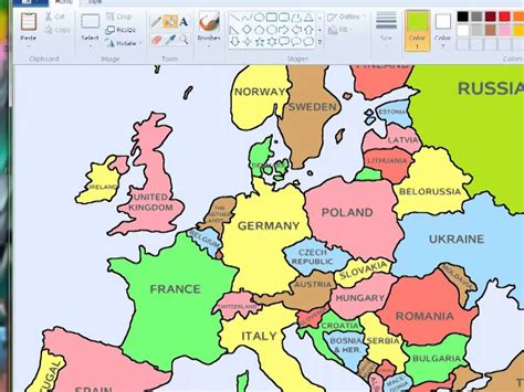 europe map with country names language 113 pronunciation names of countries