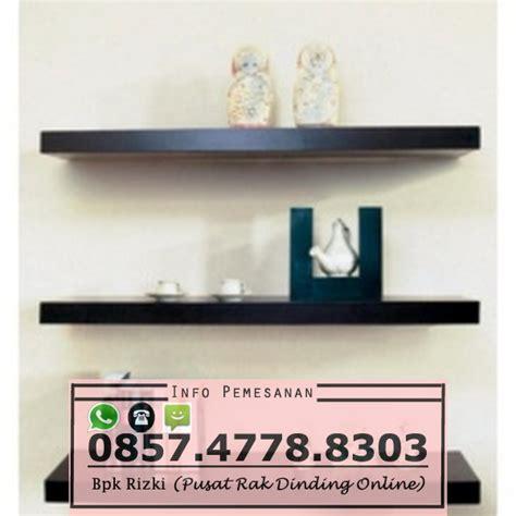 3 Rak Dinding Minimalis Gantung Melayang Kayu Uk 806040 X 15 rak dinding kayu palet jual rak dinding minimalis jual rak melayang minimalis jual rak