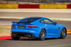 2017 jaguar f type svr drive smoother lighter