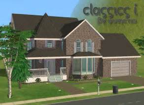 Sims 3 Family House Plans Mod The Sims Classics 1 Furnished Unfurnished