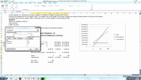 cost volume profit graph excel template 11 cost volume profit graph excel template