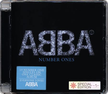 abba number ones databbase cd abba number ones