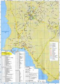 map of hotels in paphos map map of paphos area large detailed cyprus maps