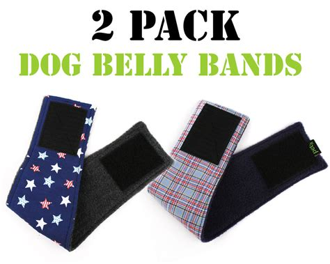 belly band for dogs 2 pack belly bands for dogs help stop marking inside