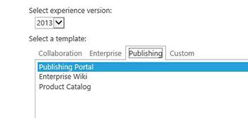 Sharepoint Tips And Tricks The Publishing Feature Redmondmag Com Sharepoint Product Catalog Template