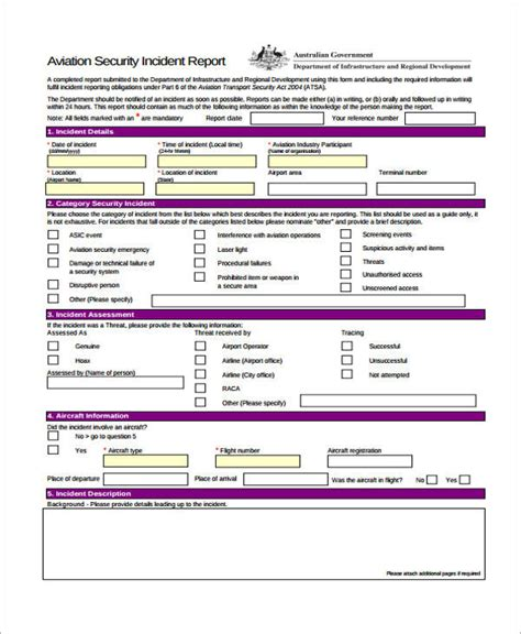 information security report template sle incident report form 20 security incident report images 11 information security