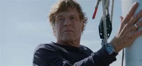 does robert redford wear aheadpiece what watch does robert redford wear in all is lost