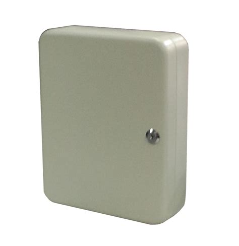 Storage Box Organizer Gray secure steel key storage cabinet 93 gray box garage