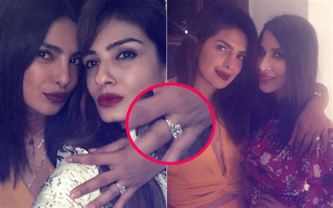 priyanka chopra tiffany engagement ring priyanka chopra flaunts engagement ring finally no