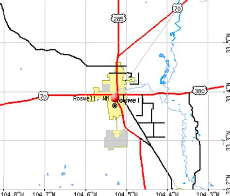 Roswell, New Mexico (NM 88201) profile: population, maps