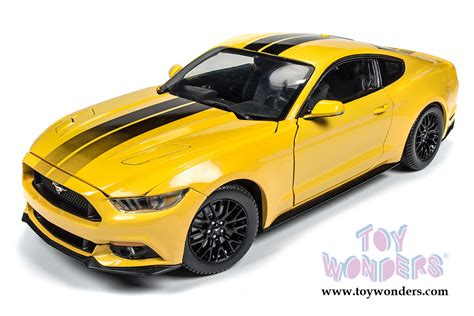 world top model cars 2016 ford mustang gt top aw229 1 18 scale auto world