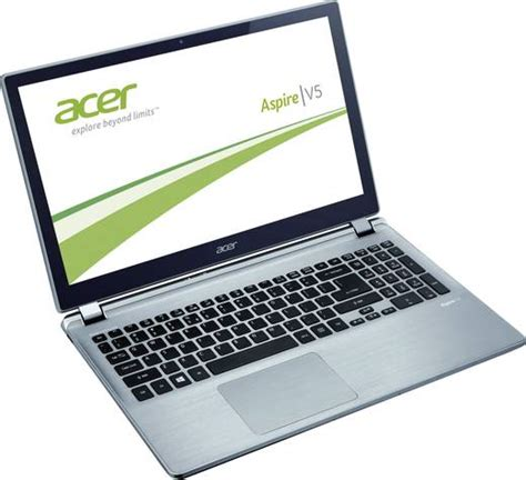 Laptop Acer Slim Aspire V5 Touch acer aspire v5 572p 33218g50aii notebook 39 62 cm 15 6 quot slim multi touch silber aluminium
