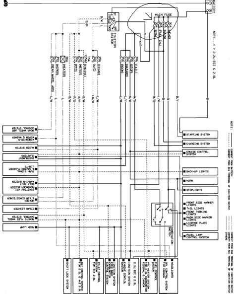 b2600 mazda wiring diagram mazda b2200 radio wiring diagram efcaviation