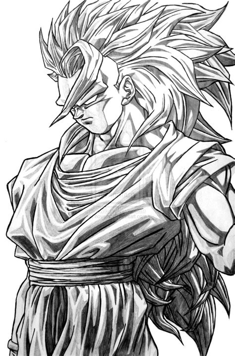 Z Drawing Images by Pencil Sketch Of Z Goku Wallpaper In Hd