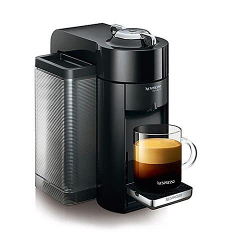 nespresso bed bath beyond nespresso 174 vertuoline evoluo deluxe espresso maker in