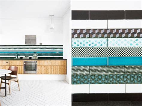creative backsplash ideas for best kitchen creative tile 12 creative kitchen tile backsplash ideas design milk
