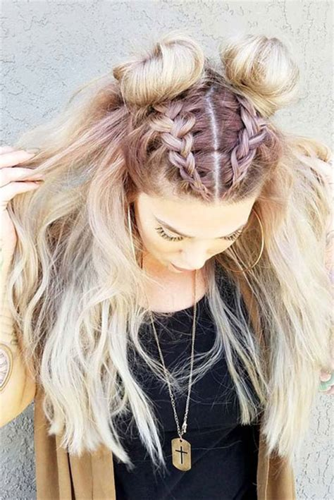 15 hair ideas for medium hair braiding hairstyles modern fashion