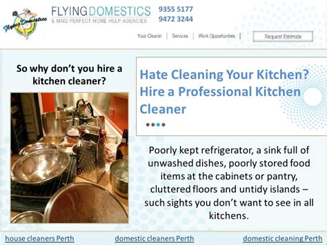 Kitchen Hire Perth by Cleaning Your Kitchen Hire A Professional Kitchen Cleaner