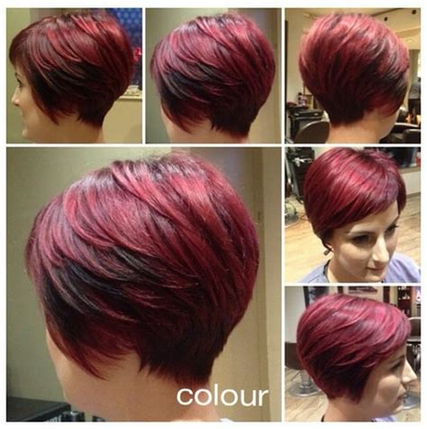 red hair colour on mature women red head cool short layered red haircut hairstyles weekly