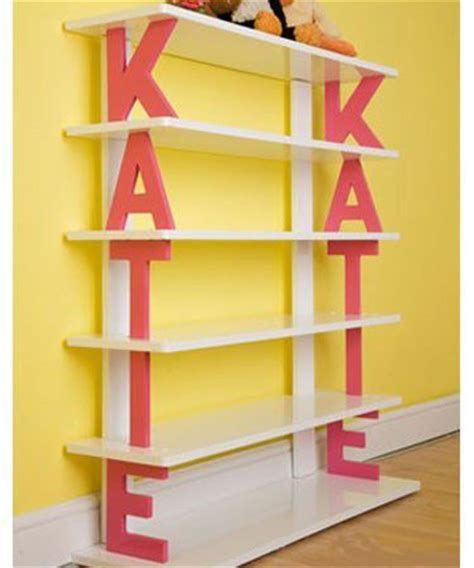 cute letter shelf name shelf paint wood letters and use as shelf supports