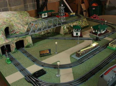 video display layout 17 best images about o gauge trains on pinterest