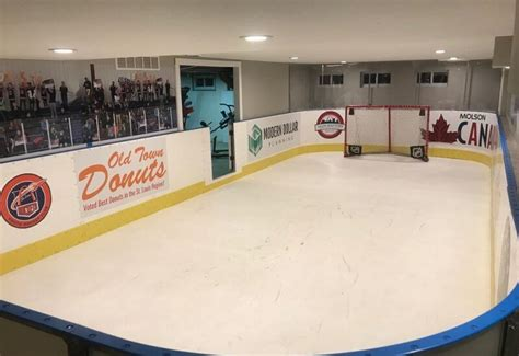 synthetic hockey boards d1 backyard rinks