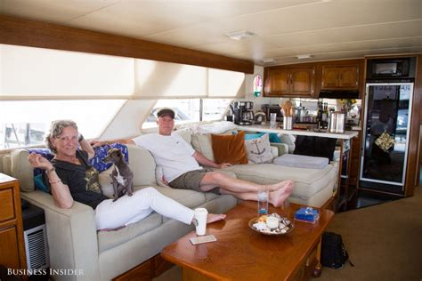 living on a boat maintenance this couple lives on a boat because san francisco is so