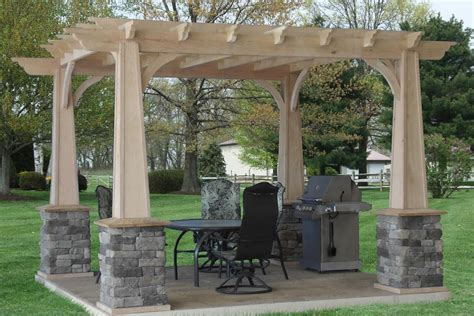 Backyard Pergola Designs by Triyae Pergola Backyard Designs Various Design