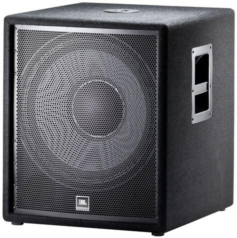 Speaker Subwoofer Jbl 18 Inch jbl jrx218s 18 inch passive compact subwoofer pssl
