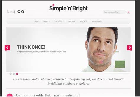 simple html templates for blogger central of free blogspot template simple and bright