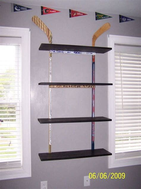 hockey bedroom decor hockey boy rooms and shelves on