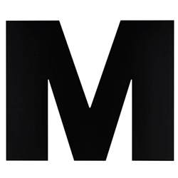 To M Letter M Formal Letter Template