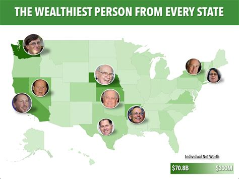 meet the wealthiest person in every us state business insider