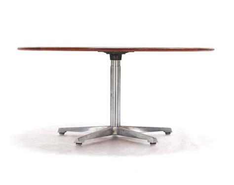 Hi Lo Convertible Coffee Dining Dinette Teak Table On 5 Hi Lo Table
