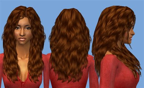 download wavy hair for sims 3 mod the sims nouk long wavy hair for ladies of all ages