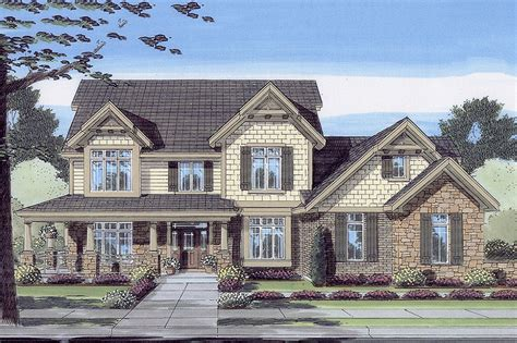 dream home source com craftsman style house plan 4 beds 2 5 baths 3016 sq ft