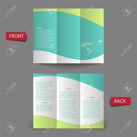 tri fold brochure publisher template publisher tri fold brochure templates free 3 best agenda templates