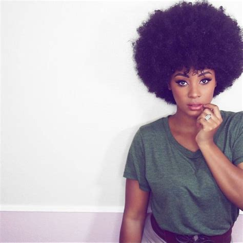 big fro puff hair and hair care big afro puff black magic beautiful and