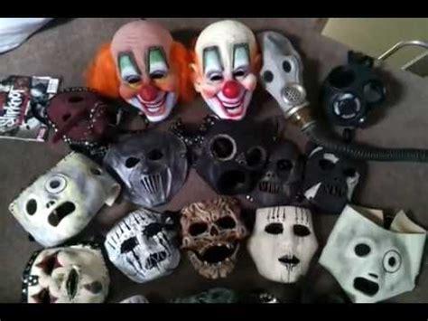 slipknot mask collection so far youtube